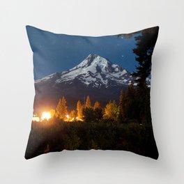 Moving Mountains Throw Pillow