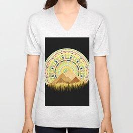 Disc Nature Unisex V-Neck