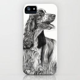 cocker spaniel iPhone Case