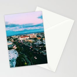 Las Vegas Photograph Filter Vintage Cool Colors  Stationery Cards