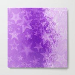 Violet Starshine Metal Print