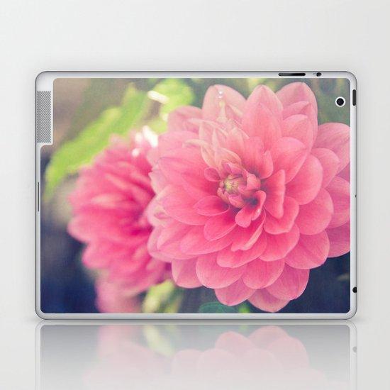 Pink Dahlia Laptop & iPad Skin
