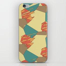 Lake Wind Desert Fire iPhone Skin