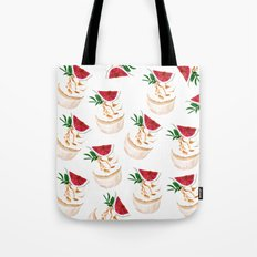 Fig Cupcakes pattern Tote Bag