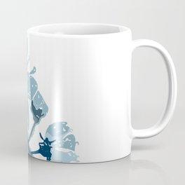 Blue Cherry Blossoms Coffee Mug