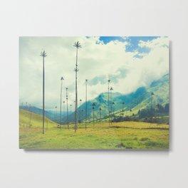 Wax Palms of Salento, Colombia Fine Art Print Metal Print