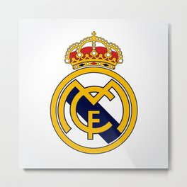 Real Madrid Metal Print