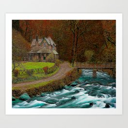 A Secluded View Art Print