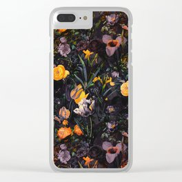 Night Forest II Clear iPhone Case