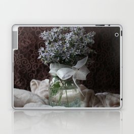 Wild Asters in a Mason Jar Laptop & iPad Skin