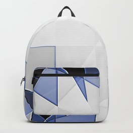 blue background for home decor Backpack