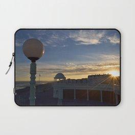 Bexhill Colonnade sunset Laptop Sleeve