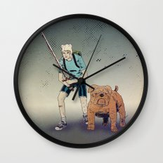 Time for Adventuring Wall Clock