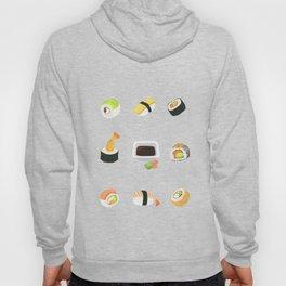 Sushi Pattern Hoody