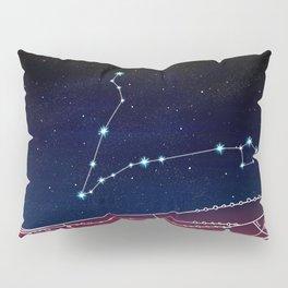 Pisces Constellation Design Pillow Sham