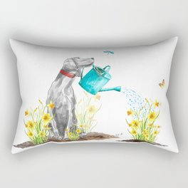 DAFFODILS AND WEIM Rectangular Pillow