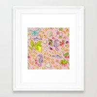 pasta Framed Art Prints featuring Pasta Pasta! by Lidija Paradinović Nagulov - Celandine