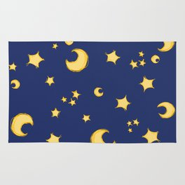 Moons and Stars Rug