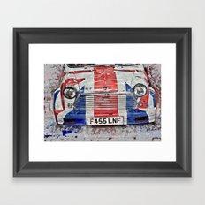 mini car art Framed Art Print