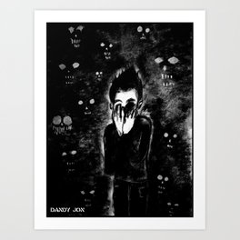 The Nightmares Return Art Print