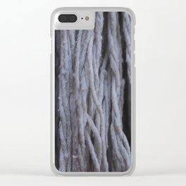"""""""Cascada de Algodón"""" Clear iPhone Case"""