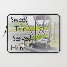 Sweet Tea Served Here Laptop Sleeve