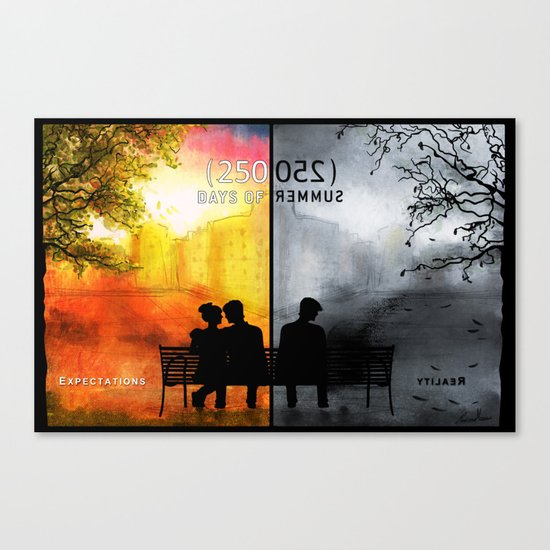 250/250 Days of Summer.... Canvas Print