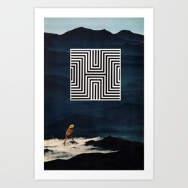 Decieved Art Print