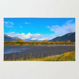 Fall at Portage Creek Rug