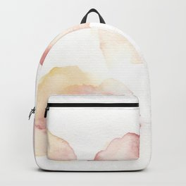 180807 Abstract Watercolour 16  Colorful Abstract  Modern Watercolor Art Backpack