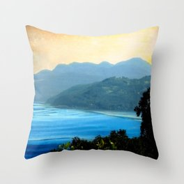 La Malbaie-Quebec, Canada Throw Pillow