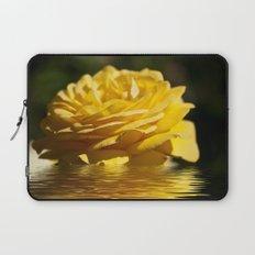Yellow Rose Flood Laptop Sleeve