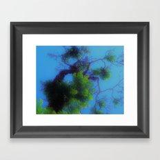 Trees in Heaven Framed Art Print