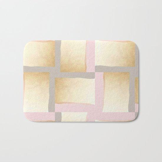 Pastels + Gold #society6 #decor #buyart Bath Mat