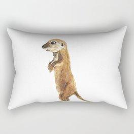 cute little otter Rectangular Pillow