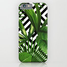 Tropical Jungle Pattern iPhone Case