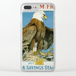 Vintage poster - Keep Him Free Clear iPhone Case