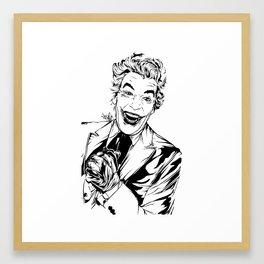 Joker On You Framed Art Print