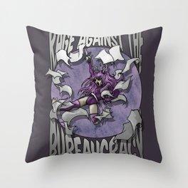 Rage against the Bureaucracy Throw Pillow