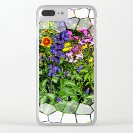 Stepping Stones into the Garden Clear iPhone Case