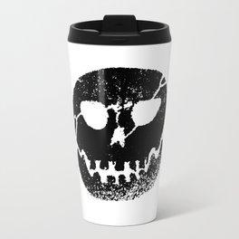 Glow skull Black Travel Mug