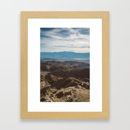 Joshua Tree National Park IV Framed Art Print