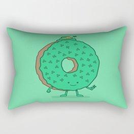 The St Patricks Day Donut Rectangular Pillow