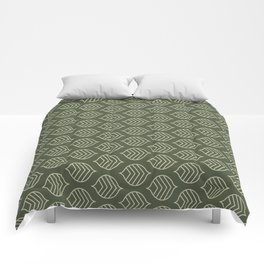 Olive Scales Comforters