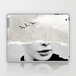 minimal collage /silence Laptop & iPad Skin