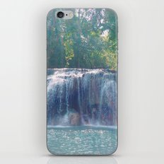 Turquoise Waterfall iPhone Skin