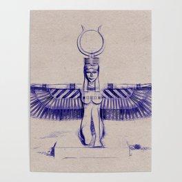 Isis Goddess of Egypt Poster