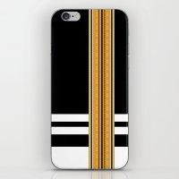 steelers iPhone & iPod Skins featuring Maldivian Sarong (Feyli) by Arcturus