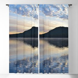 Rippling Reflections: September Sunrise on Lake George Blackout Curtain