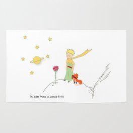 The Little Prince, on asteroid Rug